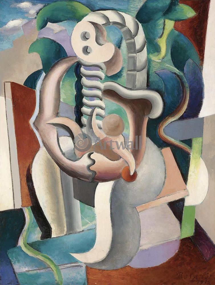 """Художники, картина """"Мать и дитя"""", 20x27 см, на бумаге от Artwall"""
