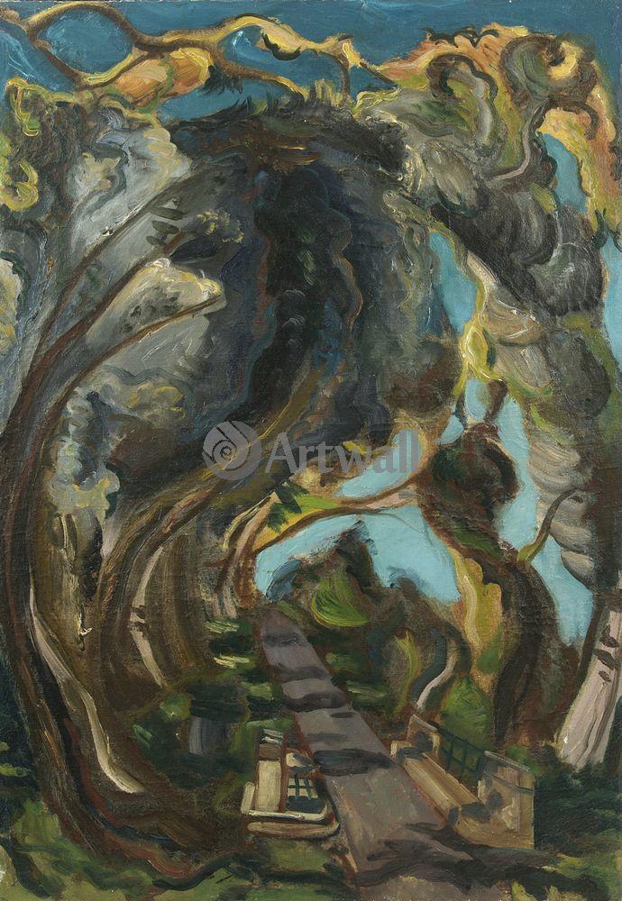 """Художники, картина """"Мост Арес"""", 20x29 см, на бумаге от Artwall"""
