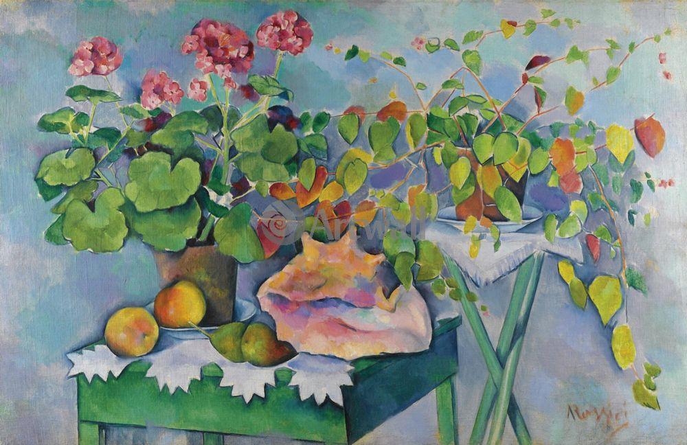 "Художники, картина ""Натюрморт с раковиной"", 31x20 см, на бумаге от Artwall"
