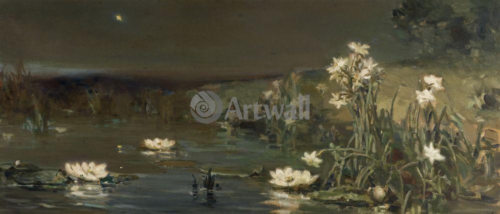 """Художники, картина """"Вечерняя звезда"""", 47x20 см, на бумаге от Artwall"""