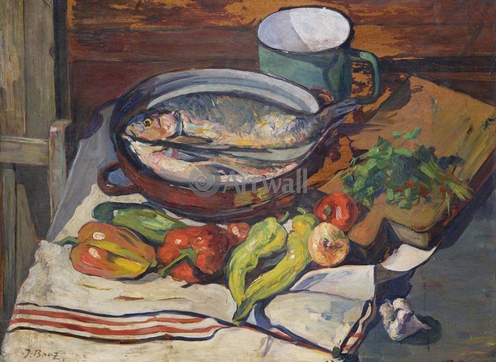 """Художники, картина """"Кухонный натюрморт"""", 27x20 см, на бумаге от Artwall"""