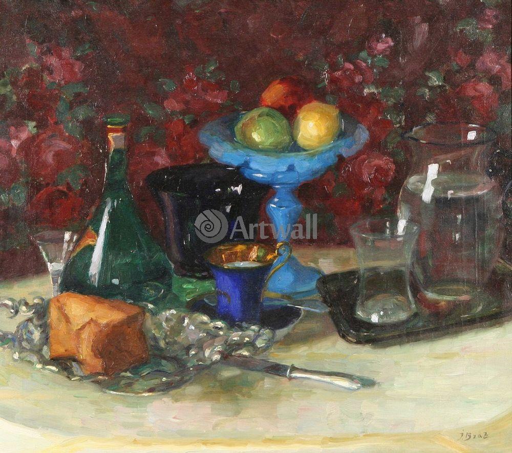 "Художники, картина ""Натюрморт с фруктами"", 23x20 см, на бумаге от Artwall"