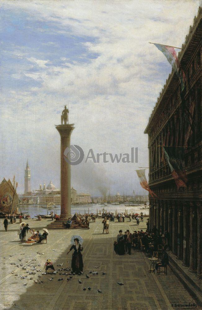 """Художники, картина """"Венеция"""", 20x31 см, на бумаге от Artwall"""