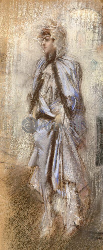 "Художники, картина ""Графина де Расти"", 20x48 см, на бумаге от Artwall"