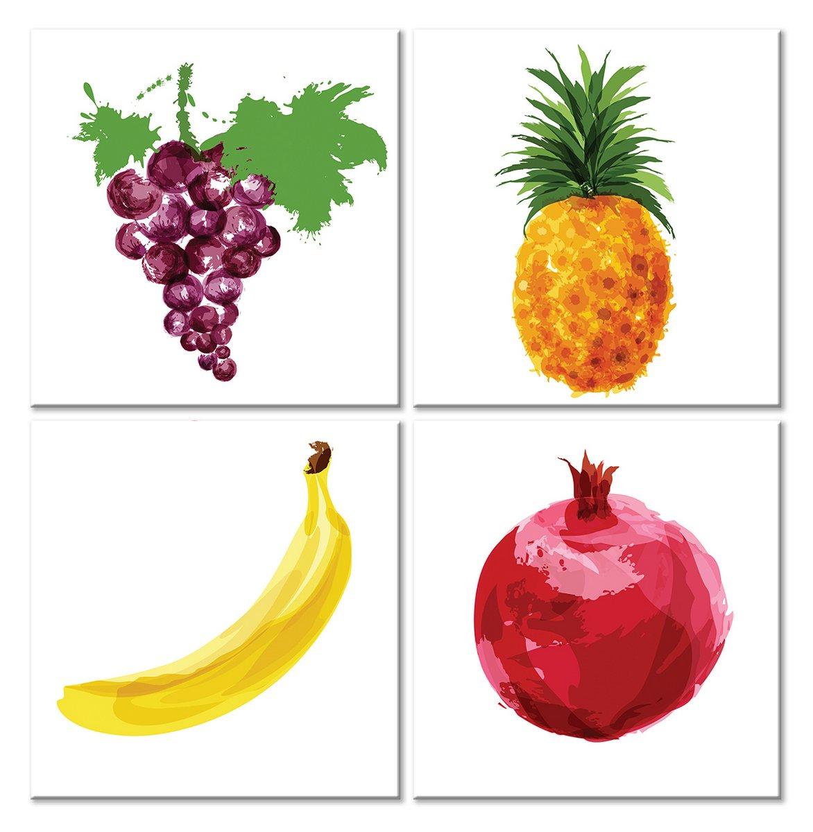 Модульная картина «Сочные плоды», 50x51 см, модульная картина от Artwall