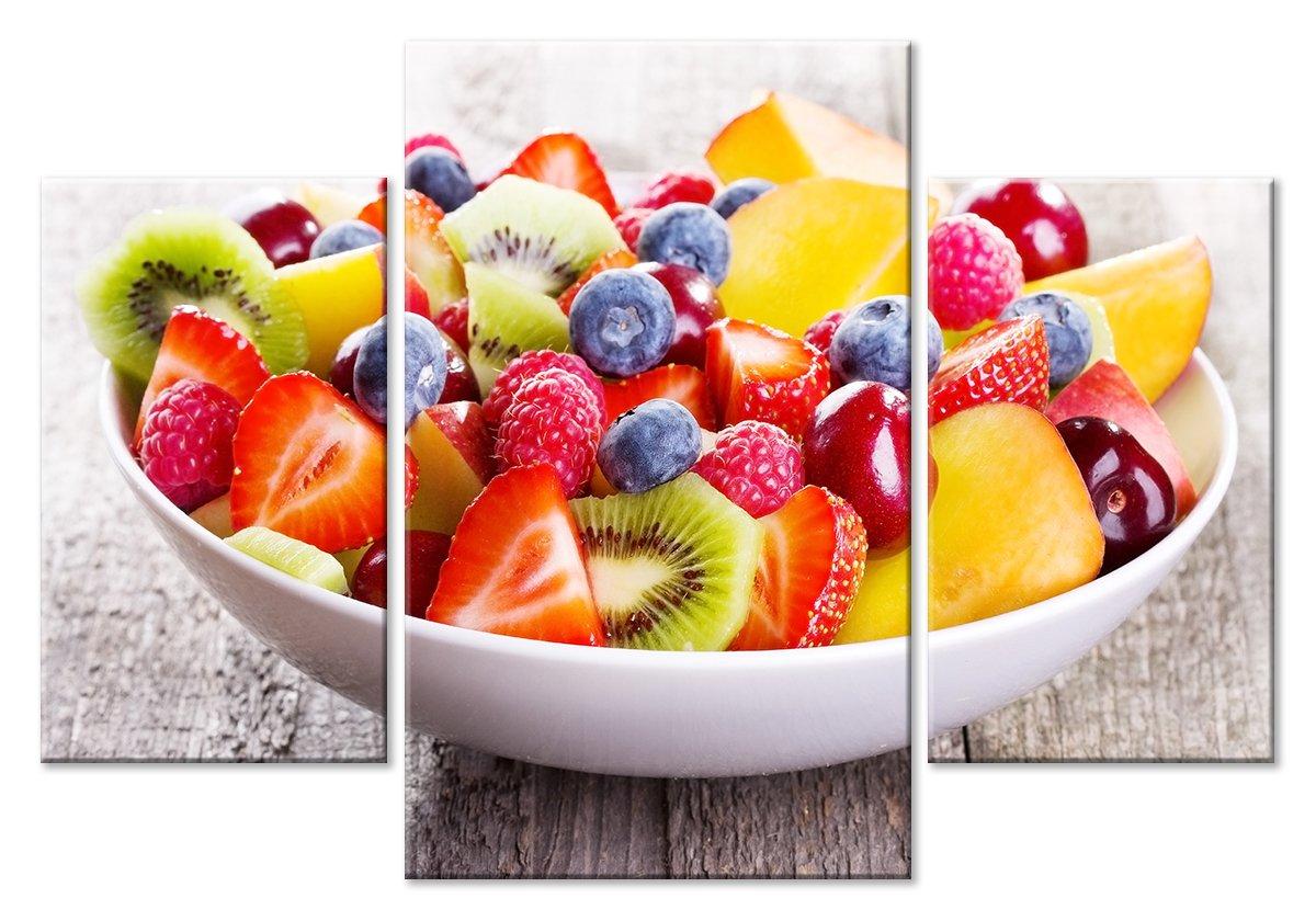 Модульная картина «Аппетитная тарелка», 71x50 см, модульная картина от Artwall
