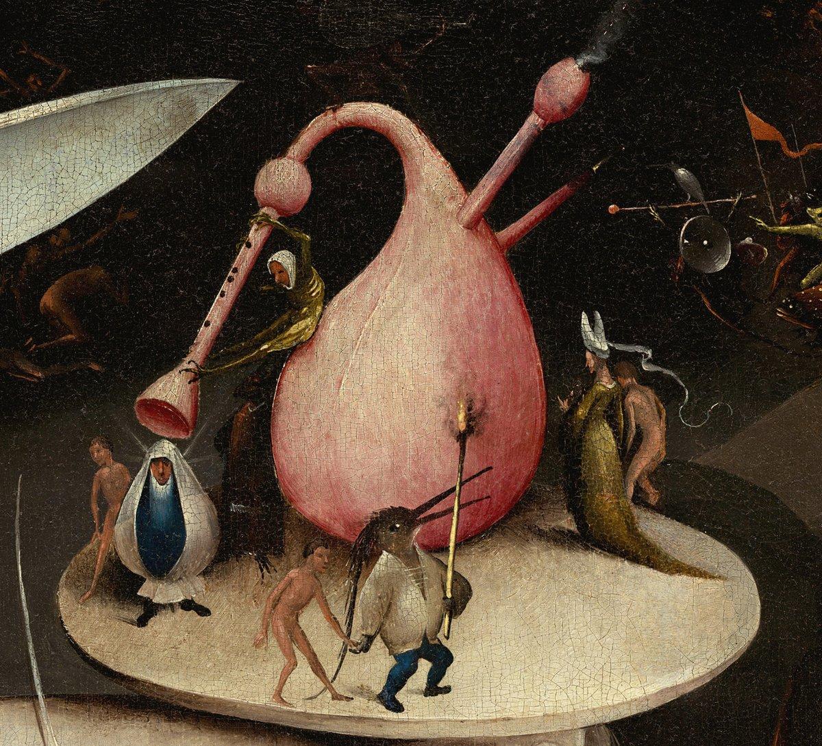 """Искусство, картина """"Босх Иероним «Сад земных наслаждений»,  фрагмент"""", 22x20 см, на бумаге от Artwall"""