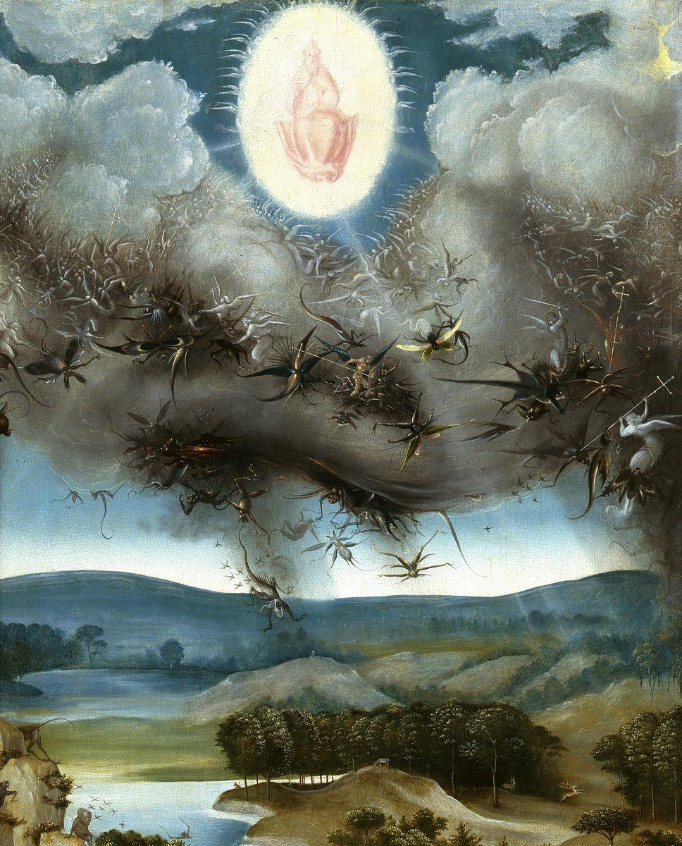"""Искусство, картина """"Босх Иероним «Страшный суд», фрагмент"""", 20x25 см, на бумаге от Artwall"""