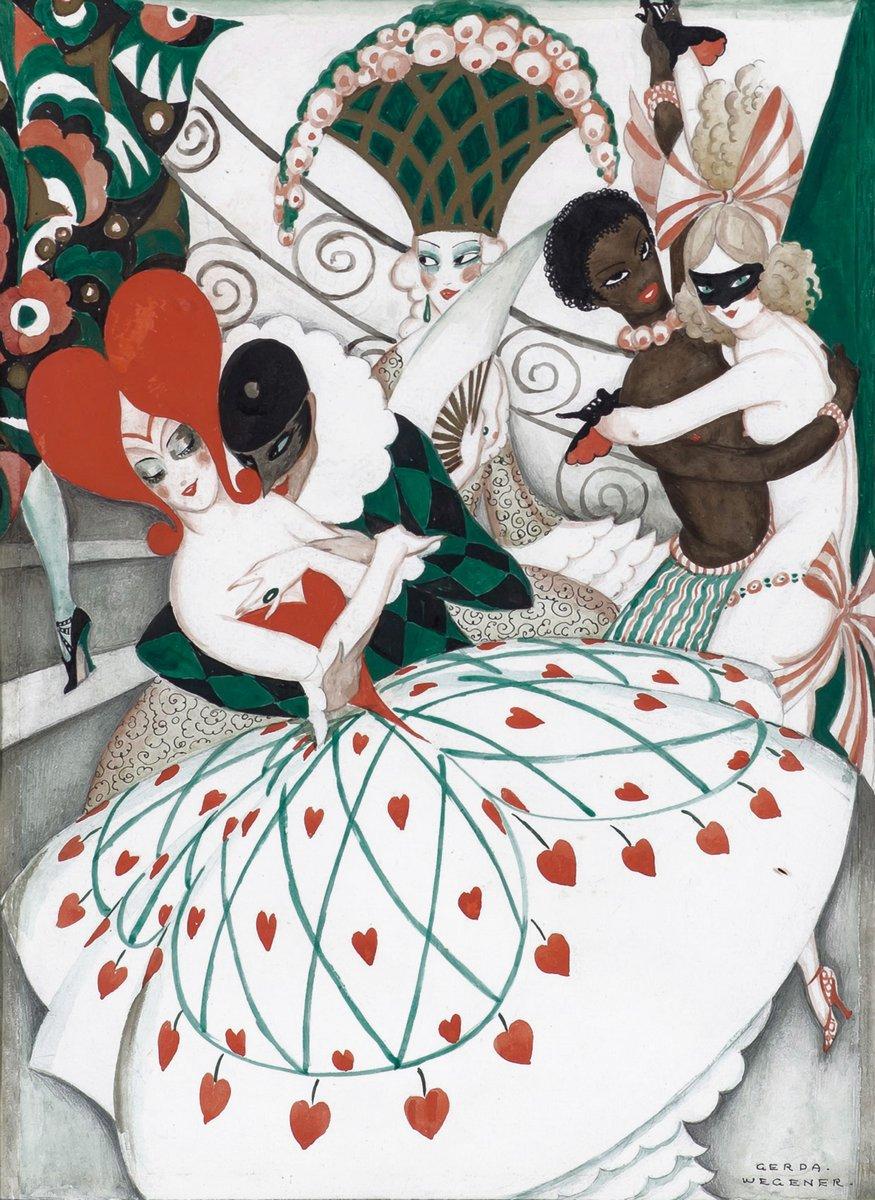 "Художники, картина ""Карнавал"", 20x27 см, на бумаге от Artwall"