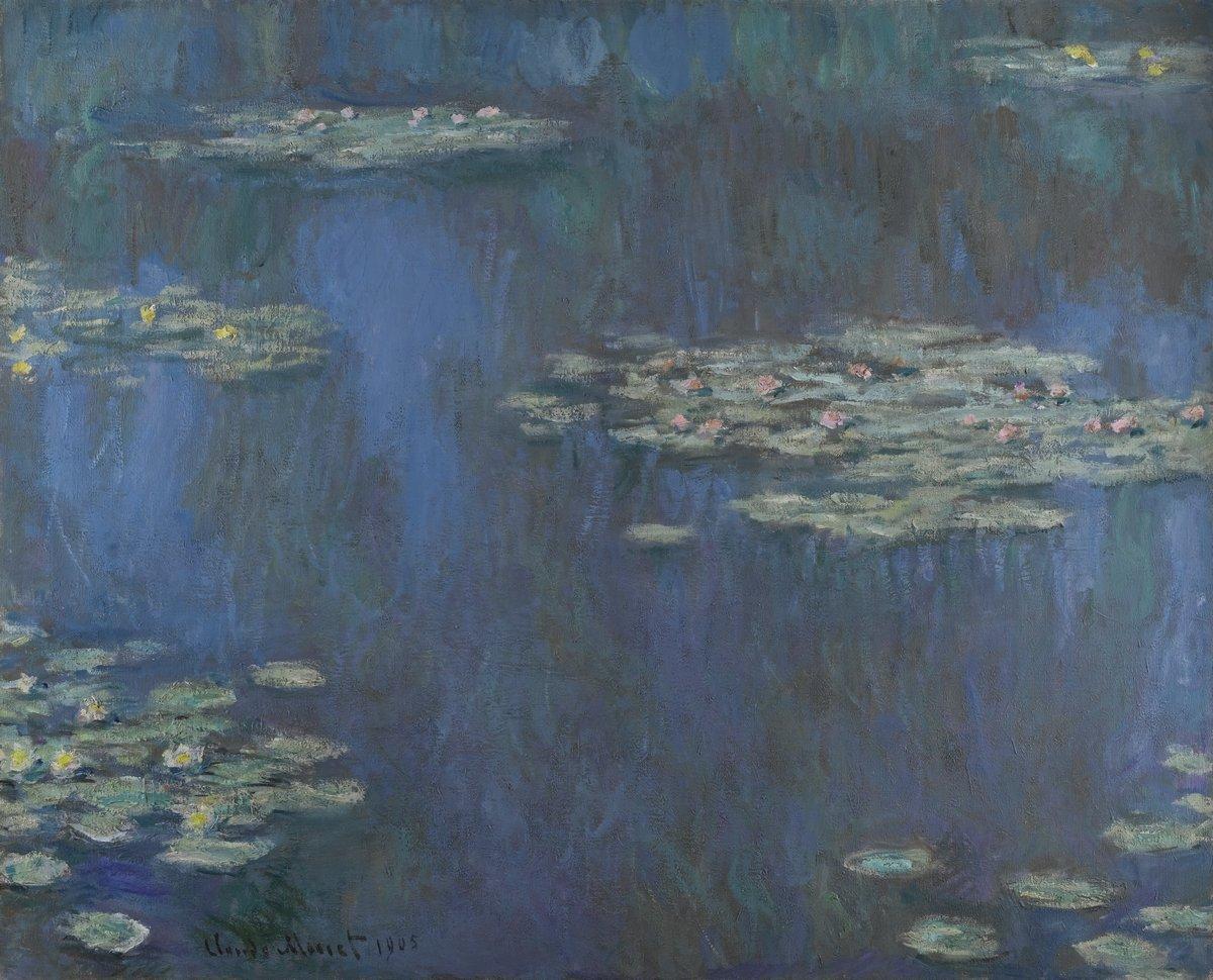 """Художники, картина """"Кувшинки"""", 25x20 см, на бумаге от Artwall"""