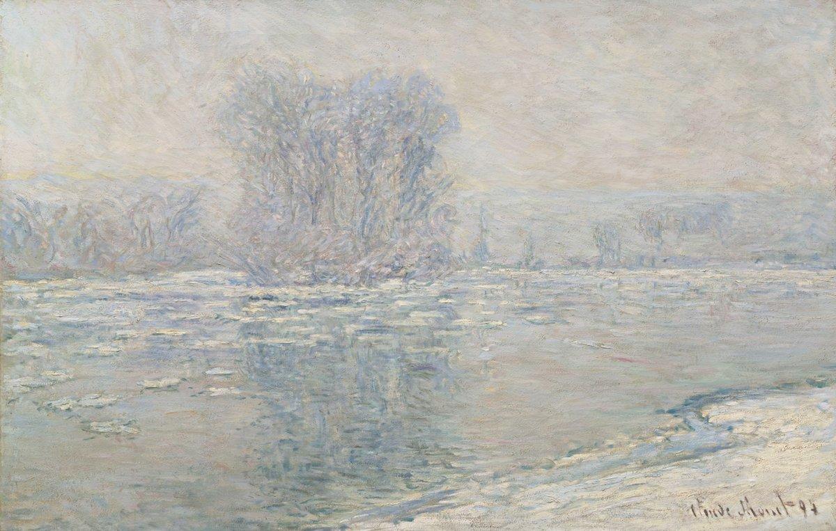 """Художники, картина """"Лёд, эффект белого"""", 31x20 см, на бумаге от Artwall"""