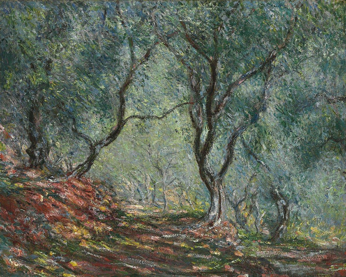"""Художники, картина """"Оливковые деревья в саду в Морено"""", 25x20 см, на бумаге от Artwall"""