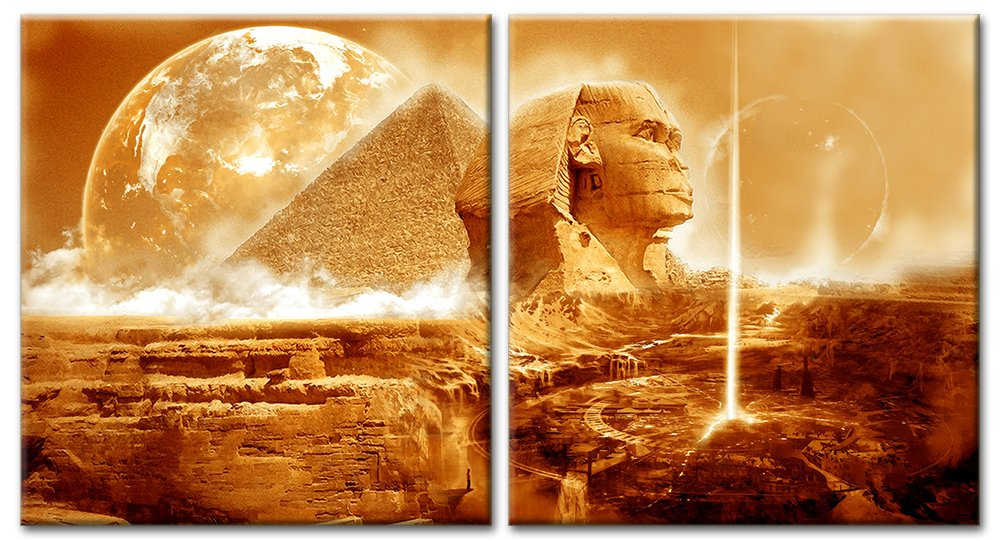 Модульная картина «Тайны пустыни», 93x50 см, модульная картина от Artwall
