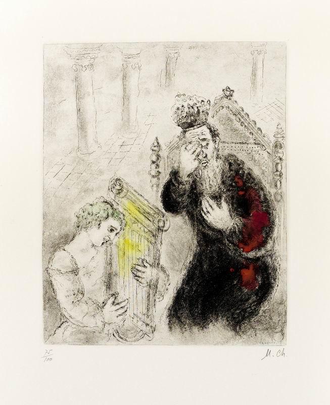"""Художники, картина """"Etching"""", 20x25 см, на бумаге от Artwall"""