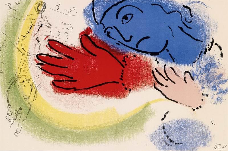 """Художники, картина """"Всадница"""", 30x20 см, на бумаге от Artwall"""