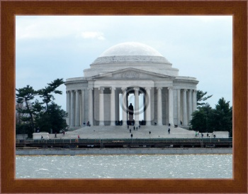 Магнитная картина Washington Jefferson Memorial 2011 Года, Вашингтон