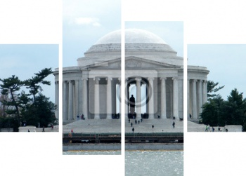 Модульное панно Washington Jefferson Memorial 2011 Года, Вашингтон