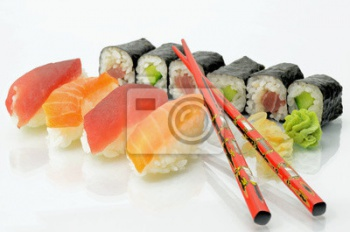 Sushiauswahl, Суши