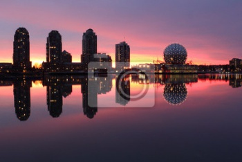 False Creek, Заре Refelection, Ванкувер, Ванкувер