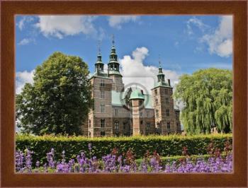 монтаж (установку) портрет датский замок розенборг стандартные