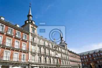 Plaza Mayor, Мадрид, Испания,
