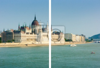 Модульное панно Hungarian parliament building, Будапешт