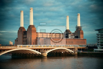 Battersea Power Station В Лондоне,