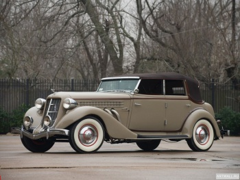 Auburn 851 SC Convertible Sedan '1935,