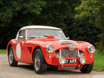 Austin Healey 3000 Rally Car (MkII) '1962,