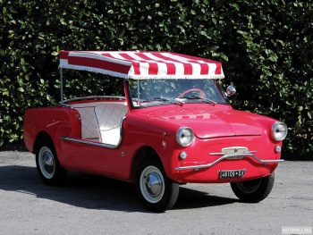 Autobianchi Bianchina Jolly '1962 дизайн Ghia,