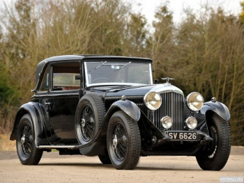 Bentley 4 Litre Coupe by Mulliner '1931,