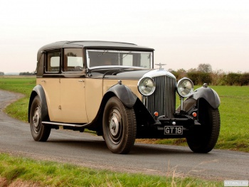 Bentley 8 Litre Sedanca de Ville by Mulliner '1931,