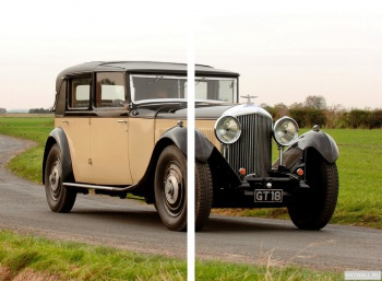 Модульное панно Bentley 8 Litre Sedanca de Ville by Mulliner '1931,