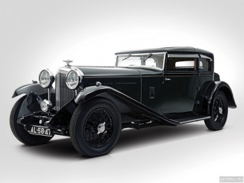 Bentley 8 Litre Short Chassis Mayfair Fixed Head Coupe '1932,