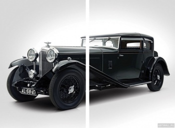Модульное панно Bentley 8 Litre Short Chassis Mayfair Fixed Head Coupe '1932,
