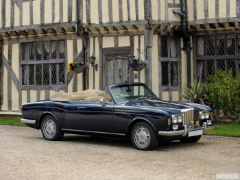 Bentley Corniche Convertible '1971-77,