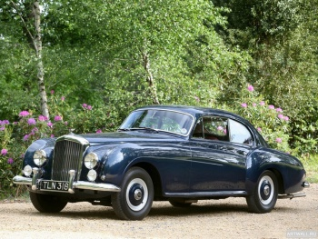 Bentley R-Type Continental Sports Saloon by Mulliner '1954,