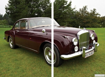 Модульное панно Bentley S2 Continental Coupe by Mulliner '1960-62,