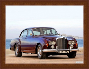 Магнитная картина Bentley S3 Continental Flying Spur Saloon by Mulliner '1963,