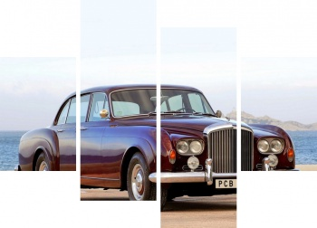 Модульное панно Bentley S3 Continental Flying Spur Saloon by Mulliner '1963,