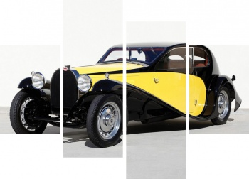 Модульное панно Bugatti Type 46 Sports Saloon La Pette Royal '1930,