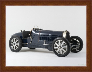 Магнитная картина Bugatti Type 51 Grand Prix Lord Raglan '1933,
