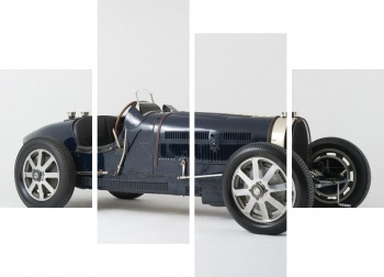Модульное панно Bugatti Type 51 Grand Prix Lord Raglan '1933,
