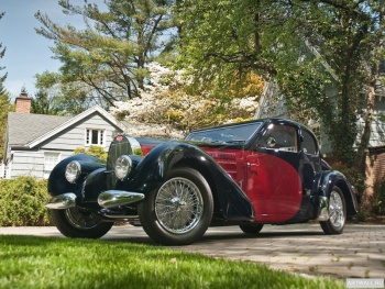 Bugatti Type 57S Coupe by Gangloff of Colmar '1937,