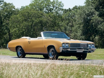 Buick GS 455 Convertible (3467) '1971,