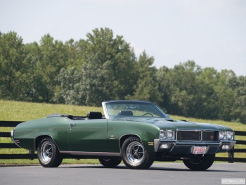 Buick GS Stage 1 Convertible '1970,