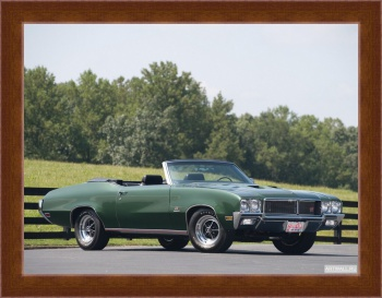 Магнитная картина Buick GS Stage 1 Convertible '1970,