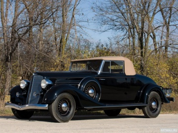 Buick, Buick Series 90 Convertible Coupe '1934