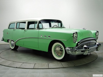 Buick, Buick Special Deluxe Estate Wagon '1954