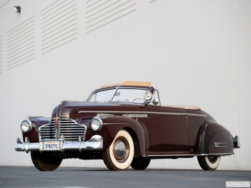Buick, Buick Super Convertible Coupe (56C) '1941